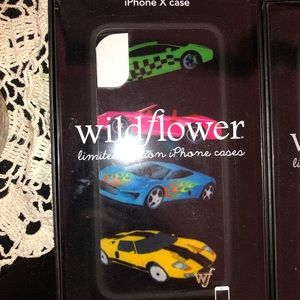 Wildflower iPhone X case